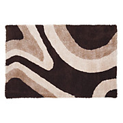 Hochflorteppich Abina 70x100 cm - Braun, KONVENTIONELL, Textil (70/100cm) - JAMES WOOD