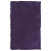 Hochflorteppich Amy - Lila, KONVENTIONELL, Textil (120/170cm) - LUCA BESSONI