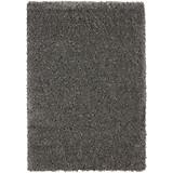 Hochflorteppich Annalena - Grau, MODERN, Textil (120/170cm) - LUCA BESSONI
