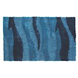 Hochflorteppich Carina - Türkis, KONVENTIONELL, Textil (100/160cm) - LUCA BESSONI
