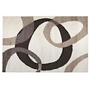 Hochflorteppich Life - Beige/Creme, KONVENTIONELL, Textil (80/150cm)