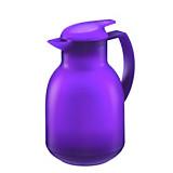 Isolierkanne Bolero - Lila, KONVENTIONELL, Glas/Kunststoff (16/14.5/25cm) - LEIFHEIT