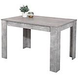 Jedálenský Stôl Doris - sivá, Moderný, drevený materiál (120/76/80cm)