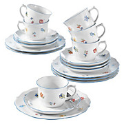 Kaffeeservice Sonate - Blau/Weiß, ROMANTIK / LANDHAUS, Keramik (30/15/15cm) - SELTMANN WEIDEN