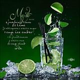 Keilrahmenbild Cocktail Moijto - MODERN, Holzwerkstoff (50/50/2cm)