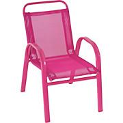 Kinder-Gartensessel Jessica I - Pink, KONVENTIONELL, Kunststoff/Textil (36/56/45cm) - OMBRA