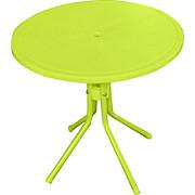 Kinder-Gartentisch Melanie I - Pink/Grün, KONVENTIONELL, Kunststoff/Metall (50/48cm) - OMBRA