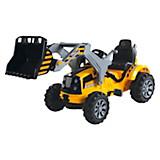 Kinderauto Ride On Traktor T800 - Gelb, MODERN, Kunststoff/Metall (148/61/64cm)