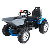 Kinderauto Ride On Traktor T900 - Blau, MODERN (117/61/64cm)