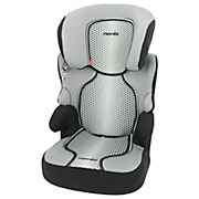 Kinderautositz Nania Befix Sp First - Schwarz/Weiß, KONVENTIONELL, Kunststoff/Textil (49/43/68,5cm)