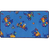 Kinderteppich Funny Bear - Multicolor, KONVENTIONELL, Textil (67/120cm)
