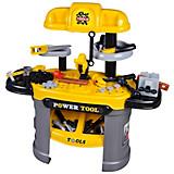 Kinderwerkbank Power Tool - Gelb, MODERN, Kunststoff (68/67/30cm)