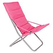 Klappstuhl Lisa - Pink, KONVENTIONELL, Kunststoff/Textil (77/95/60cm) - OMBRA