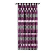 Kombivorhang Alea - Beere, MODERN, Textil (140/255cm) - LUCA BESSONI