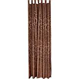 Kombivorhang Linda - Braun, KONVENTIONELL, Textil (140/255cm) - OMBRA