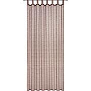 Kombivorhang Meike - Braun, KONVENTIONELL, Textil (140/245cm) - LUCA BESSONI