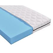 Komfortschaummatratze Base H2 90x200 - Weiß, MODERN, Textil (200/90cm) - PRIMATEX