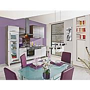 Küchenblock Plan, inkl. Gsp. - Weiß/Grau, LIFESTYLE, Holzwerkstoff (280cm)