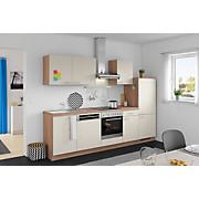 Küchenblock Win/plan - Eichefarben/Magnolie, MODERN, Holzwerkstoff (280cm) - EXPRESS