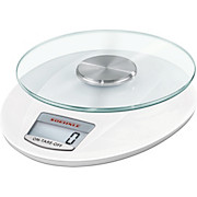 Küchenwaage Roma Plus - Weiß, KONVENTIONELL, Glas/Kunststoff (22/13/28cm) - SÖHNLE