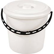 Kunststoffeimer 10 Liter - Weiß, KONVENTIONELL, Kunststoff (28,5/37cm) - PLAST 1
