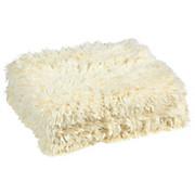 Kuscheldecke Carina - Weiß, KONVENTIONELL, Textil (150/200cm) - LUCA BESSONI