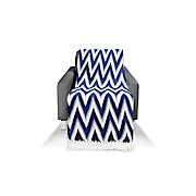 Kuscheldecke Grace - Blau, MODERN, Textil (130/180cm) - LUCA BESSONI
