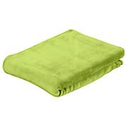 Kuscheldecke Marlies - Grün, KONVENTIONELL, Textil (150/200cm) - LUCA BESSONI