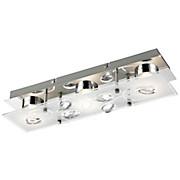 LED-Außenleuchte Alexa - Silberfarben, MODERN, Glas/Metall (35/9/7,1cm)