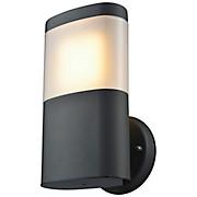 LED-Außenleuchte Terna - Schwarz, MODERN, Kunststoff/Metall (12,6/23/12,4cm)