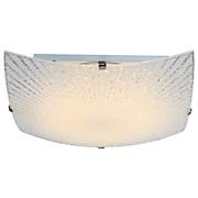 LED-Deckenleuchte 40448 - KONVENTIONELL, Glas/Metall (25/25/8,5cm)