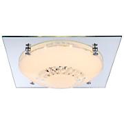 LED-Deckenleuchte 48251-12 - MODERN, Glas/Metall (31,5/31,5/8,5cm)