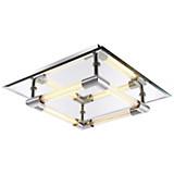 LED Deckenleuchte Yasei - MODERN, Glas/Metall (28/28/8cm)