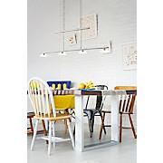 LED-hängeleuchte Borriol - Nickelfarben, MODERN, Kunststoff/Metall (70/6/110cm)