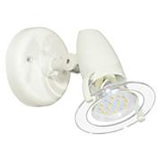 LED-spotleuchte Pocket 1 - Transparent/Weiß, MODERN, Kunststoff (8,5cm)