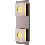 LED-wandleuchte 49208-2 - MODERN, Kunststoff/Metall (26/6,5/10cm)