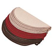 Lépcsőszőnyeg Birmingham - bézs/barna, konvencionális, textil (25/65cm)