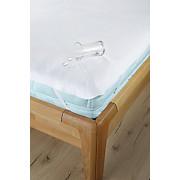 Matratzenschoner Silke 70x140 cm - Weiß, KONVENTIONELL, Textil (70/140cm) - PRIMATEX