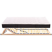 Matratzenset Homestar Plus H1 90x200 - Holz (90/200cm) - PRIMATEX