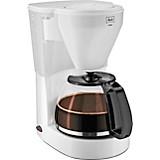 Melitta Filterkaffeemaschine Easy, Weiß - Weiß, KONVENTIONELL, Glas/Kunststoff (18,9/26/31,5cm) - MELITTA