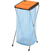 Müllsackständer Nature 1 - Silberfarben/Orange, KONVENTIONELL, Kunststoff/Metall (38/40/82cm)