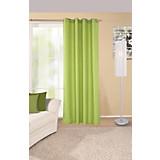 Ösenvorhang Ocean - Grün, KONVENTIONELL, Textil (140/245cm) - OMBRA