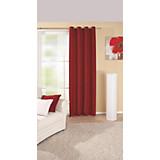 Ösenvorhang Ocean - Rot, KONVENTIONELL, Textil (140/245cm) - OMBRA
