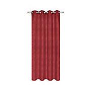 Ösenvorhang Sybille - Rot, KONVENTIONELL, Textil (140/245cm) - OMBRA