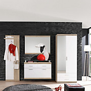 Ormar Garderobni Imperial Oak - bijela/boje hrasta, Moderno, drvni materijal (60/196/36cm) - BOXXX