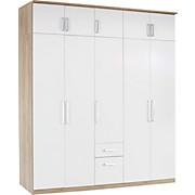 Ormar Za Odjeću Ormar Za Odjeću - bijela/boje hrasta, Konvencionalno, drvni materijal (226/212/54cm)