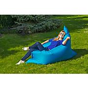 Outdoor-Sitzsack B52 XL Blau - Blau/Weiß, MODERN, Textil (170/130/40cm)