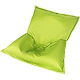 Outdoor-Sitzsack B52 XL Grün - Weiß/Grün, MODERN, Textil (170/130/40cm)