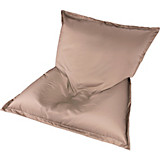 Outdoor-Sitzsack B52 XL Taupe - Taupe/Weiß, MODERN, Textil (170/130/40cm)