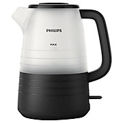 Philips Wasserkocher Hd9334/90 - Transparent/Schwarz, MODERN, Kunststoff/Metall (22,3/16,2/25,4cm) - PHILIPS